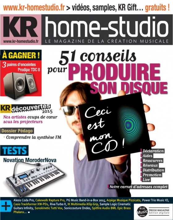 KR Home-Studio Octobre 2015